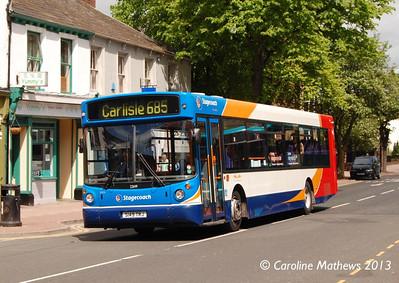 Stagecoach 22149 (S149TRJ), Warwick Road, Carlisle, 1st June 2013
