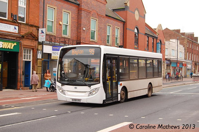 Reays KX08UXU, Lowther Street, Carlisle, 20th May 2013
