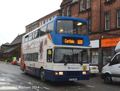 Stagecoach 16776 (S776RVU), Carlisle, 7th November 2014