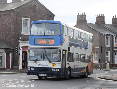 Stagecoach 16649 (R249NBV), Carlisle, 15th December 2014