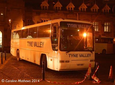 Tyne Valley XSY405, Carlisle Station, 12th January 2014