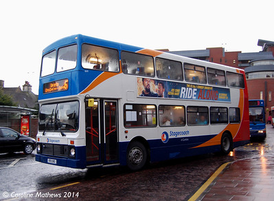 Stagecoach 16119 (R119XNO), West Tower Street, Carlisle, 18th February 2014