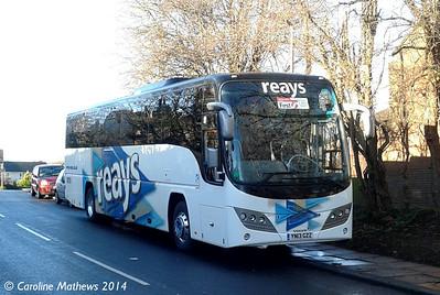 Reays YN13GZZ, Durranhill Road, Carlisle, 11th January 2014