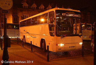 KT's Coaches A7YKW, Carlisle Station, 12th January 2014