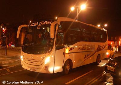 Alba Travel PO59OML, Carlisle Station, 12th January 2014
