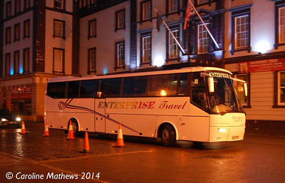 Enterprise Travel YJ57RYY, Carlisle Station, 13th January 2014