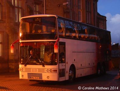 Red Rose Travel HIL7628, Carlisle Station, 13th January 2014