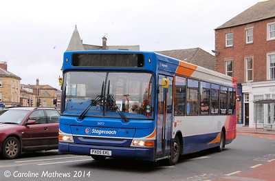 Stagecoach 34717 (PX05EKL), The Crescent, Carlisle, 12th April 2014