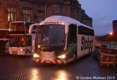 Eddie Stobart C8ESL, Carlisle Station, 13th January 2014