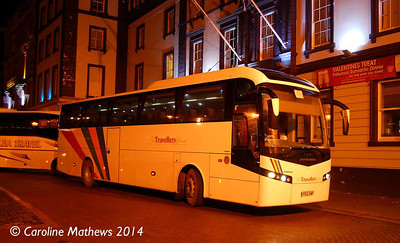 Travellers Choice PO12GWP, Carlisle Station, 12th January 2014