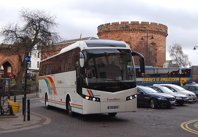 Travellers Choice 100WXD, Carlisle Station, 29th January 2014