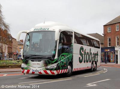 Eddie Stobart C8ESL, The Crescent, Carlisle, 12th April 2014