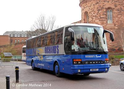 Richard's Travel N80RCT, Carlisle Station, 12th April 2014
