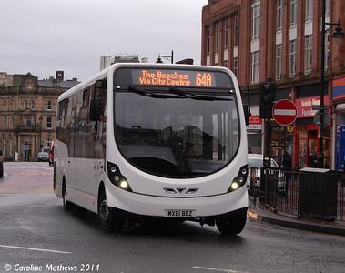 Reays MX61BBZ, English Street, Carlisle, 18th February 2014