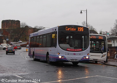 First 65745 (SN55JVK), West Tower Street, 5th February 2014