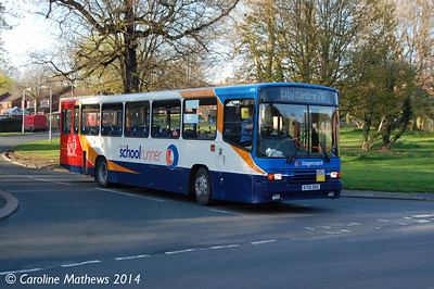 Stagecoach 20710 (K710DAO), Carlisle, 15th April 2014