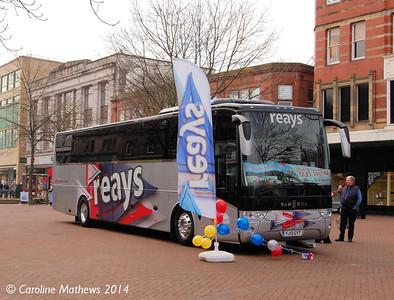 Reays YJ13GYT, Market Place, Carlisle, 29th March