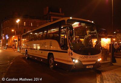 G-Line YN11AXW, English Street, Carlisle, 12th January 2014