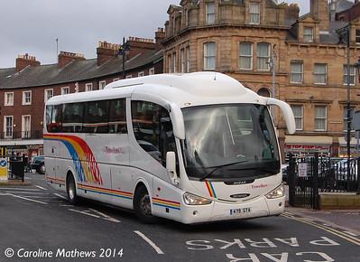 Travellers Choice 479GTA, Carlisle Station, 29th January 2014