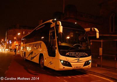 Telford's X10JLT, English Street, Carlisle, 12th January 2014