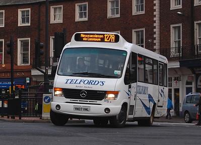 Telfords  YN07VML, Carlisle, 29th January 2014
