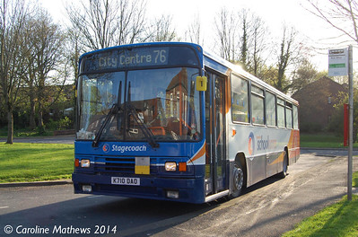 Stagecoach 20710 (K710DAO), Cumrew Close, 15th April 2014