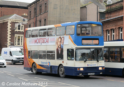 Stagecoach 16336 (N336NPN), West Tower Street, Carlisle, 5th January 2015