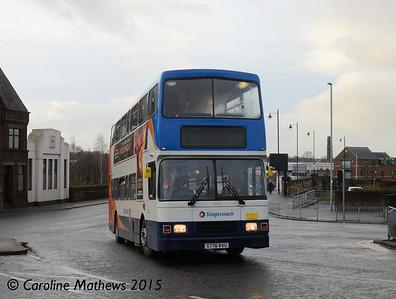 Stagecoach 16776 (S776RVU), Victoria Viaduct, Carlisle, 9th December 2015