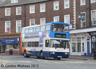 Stagecoach 16650 (R250NBV), The Crescent, Carlisle, 2nd May 2015
