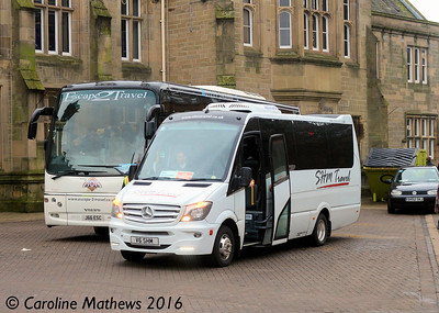 SHM Travel V6SHM, Carlisle Station, 2nd January 2016