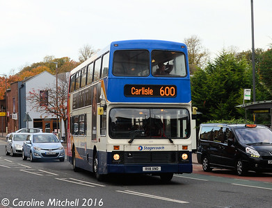 Stagecoach 16118 (R118XNO), West Tower Street, 2nd November 2016