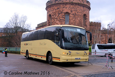 Vision Travel M600JDC, Carlisle, 2nd January 2016