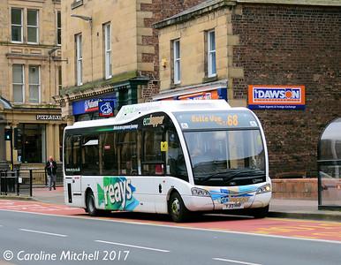 Reays YJ13HHP, Lowther Street,Carlisle, 6th April 2017