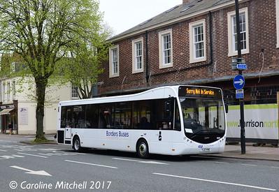 Borders Buses 11702 (YJ17FWS), Warwick Road, Carlisle, 21st April 2017