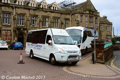 Bill's Mini Coaches PP61BUS, Carlisle Station, 15th July 2017
