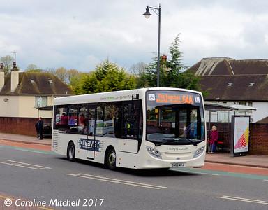 Reays SN66WKJ, West Tower Street, Carlisle, 21st April 2017