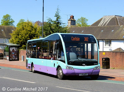 Stagecoach 47938 (YJ15APF), West Tower Street, Carlisle, 3rd May 2017