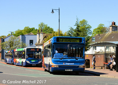 Stagecoach 34567 (NK04LBA), West Tower Street, Carlisle, 3rd May 2017
