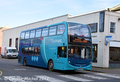 Arriva Northumbria 7522 (NK14GFJ), Carlisle Bus Station, 8th November 2017