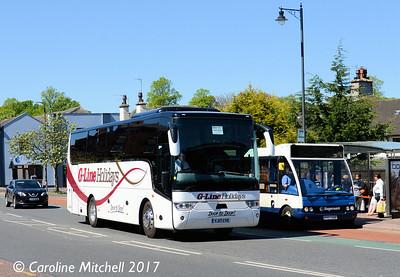 G-Line YJ17CYE, West Tower Street, Carlisle, 3rd May 2017