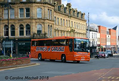 Irvings of Carlisle YN11AWU, Carlisle, 16th April 2018