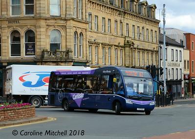 Stagecoach 47951 (YJ15AEB), Carlisle, 16th April 2018