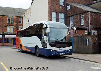 Stagecoach 53712 (YN60ABX), Carlisle Bus Station, 16th April 2018