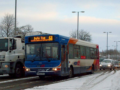 Stagecoach 34716 (PX05EKV), Castle Way,  Carlisle, 6th January 2010