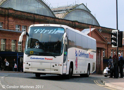 Firth KX07HDF, West Tower Street, Carlisle, 7th March 2011