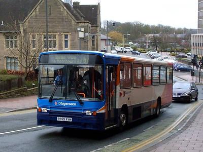 Stagecoach 20959 (R959XVM), Scotch Street, Carlisle, 4th April 2011