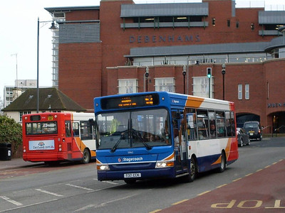 Stagecoach 33162 (T37CCK), West Tower Street, Carlisle 8th February 2011