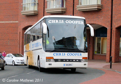 Chris Cooper 114UPH, West Tower Street, Carlisle, 21st February 2011
