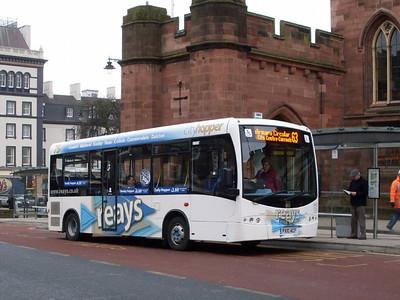 Reays PX10ACF, English Street, Carlisle, 21st February 2011