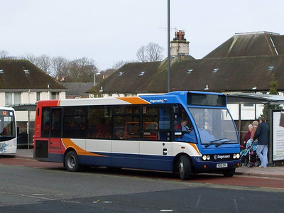 Stagecoach 47721 (PX10CKU), West Tower Street, Carlisle 8th February 2011